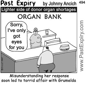 Past Expiry Cartoon